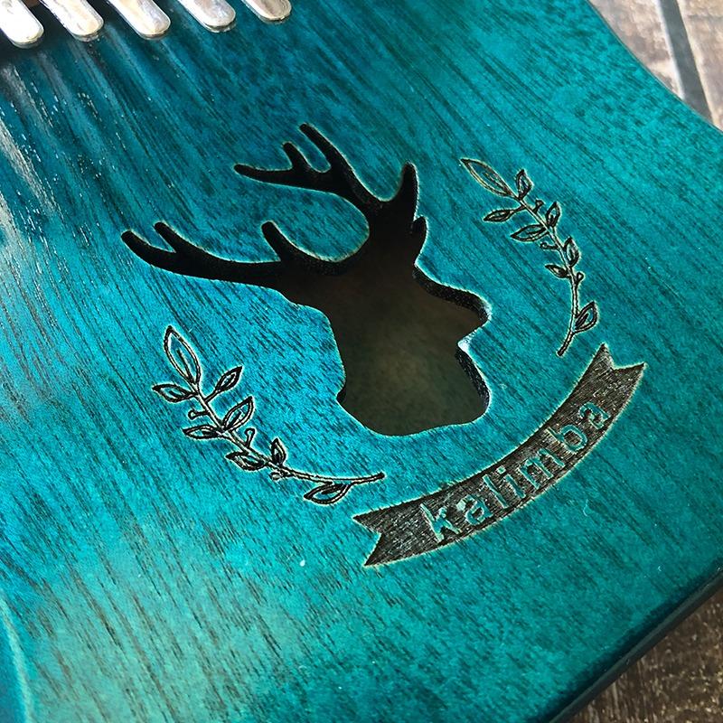 blauwe kalimba